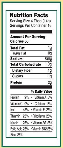 51KiSYDdukL - Earth's Best Organic Infant Cereal, Whole Grain Oatmeal, 8 Oz. Box (Pack Of 12)