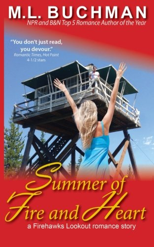 book cover of Summer of Fire and Heart