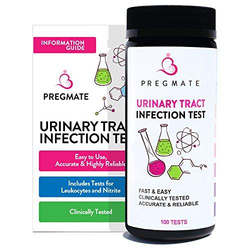 PREGMATE Urinary Tract Infection UTI Test Strips Leukocytes