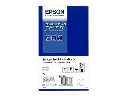 Epson Surelab Pro-S Paper Glossy A4x65 21 cm - Papel para plotter (21 cm, 190 g/m², Brillo, 21 cm (8.25