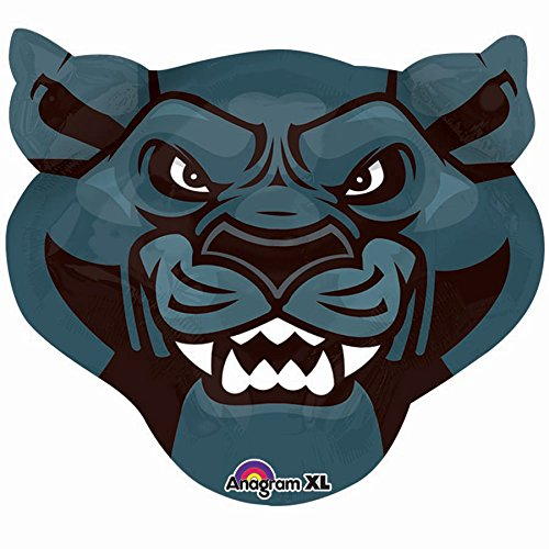 Shindigz Team Mascot Foil Balloons (Panthers) ()