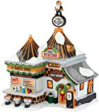 Department 56 North Pole Series Village Harley Pump and Go Diner Lit House, 8.3-Inch