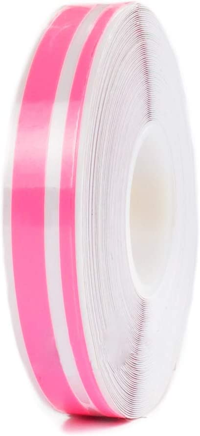 "1//2/"" Vinyl Pinstriping PinStripe Car Styling Double Tape Sticker 12mm HOT PINK"
