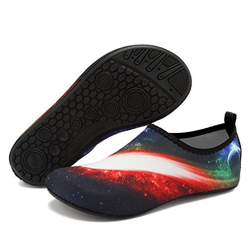 Aqua Shoes Yoga Quick for White Summer Water Barefoot OUYAJI Dry Shoes Beach Socks Women's Swim Light Kid Men's q8wnvXH