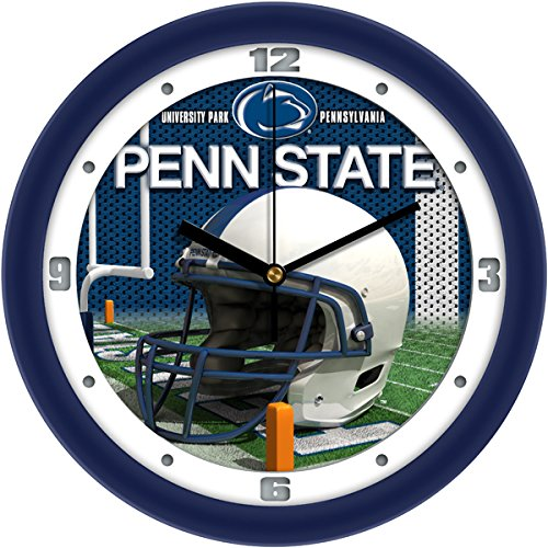 - SunTime NCAA Penn State Nittany Lions Helmet Wall Clock