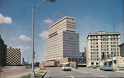 Midtown Office Building and Shopping Mall Rochester, New York Original Vintage - Malls Rochester