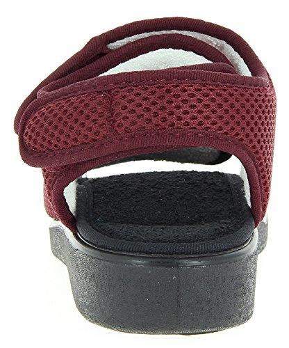 Varomed Ginevra 58.892-31 Unisex - Pantofole Per Adulti Bordeaux