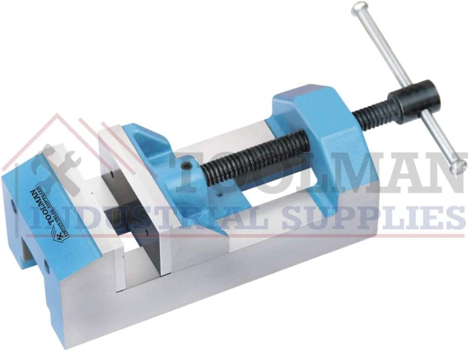 Toolman Precision Toolmaker Economy Drill Press Vise 38 MM Jaw Width Work Holding
