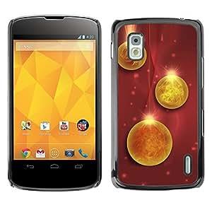 YOYO Slim PC / Aluminium Case Cover Armor Shell Portection //Christmas Holiday Decorations 1242 //LG Google Nexus 4