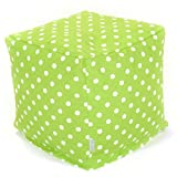 Cheap Majestic Home Goods Tangerine Small Polka Dot Cube, Small