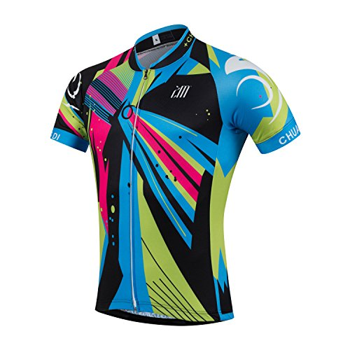 Summer Cycling Jersey Bike Clothing Bicycle Clothes For Men (XXXL)