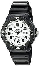 Casio Men's Sports Quartz Watch with Resin Strap, Black, 18 (Model: MRW200H-7BV)