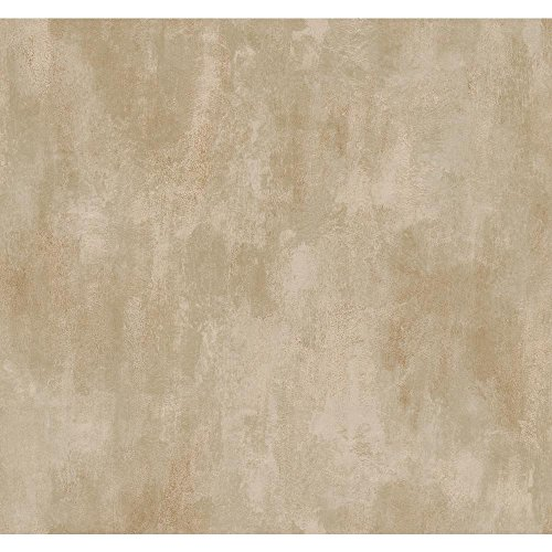 York Wallcoverings SS7180SMP Red Book Neo Classic Scroll Text Only Memo Sample, 8-Inch x 10-Inch, Cream/Silvery Taupe