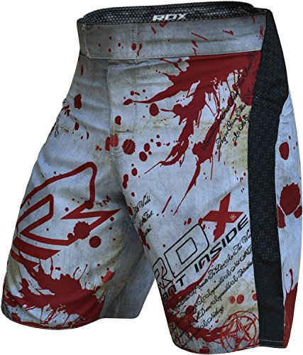 RDX MMA Shorts Training Clothing Cage Fighting Grappling Martial Arts Muay Thai Kickboxing