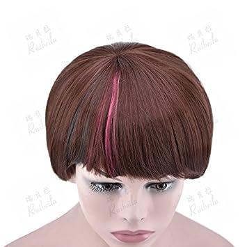 Wiaghuas Perücke Hitzebeständige Weibliche Kurze Haare