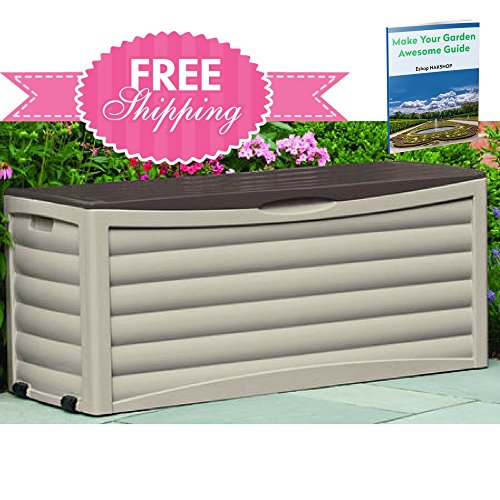 Outdoor Storage Containers For Deck With Lids Multifuncti...