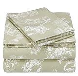 Pinzon 170 Gram Flannel Sheet Set - Twin, Floral Sage