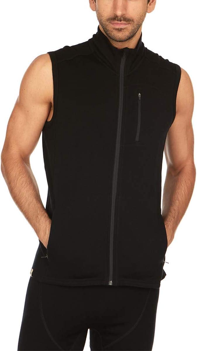 Minus33 Merino Wool 4033 Adirondack Men's Midweight Vest - Anti Odor No Itch Renewable Fabric