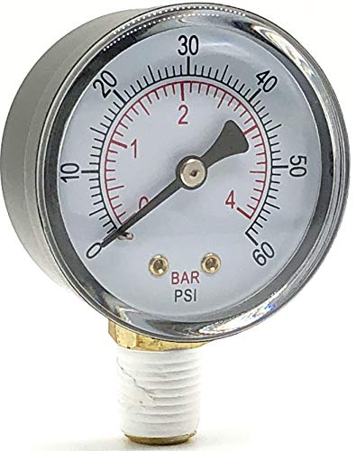 Pressure Gauge Hayward Replacement for Select Sand and D.E. Filter ecx270861