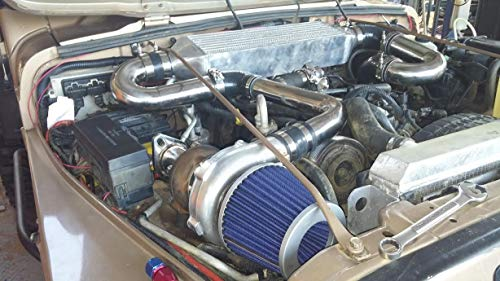 Turbo Supercharger - Jeep Wrangler 4.0L 97-04 Stage 2 TJ OFFROAD TURBO KIT 40% MORE POWER