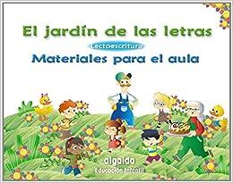 Material para el Aula. Lectoescritura El Jardín de las letras: Amazon.es: Campuzano Valiente, María Dolores: Libros