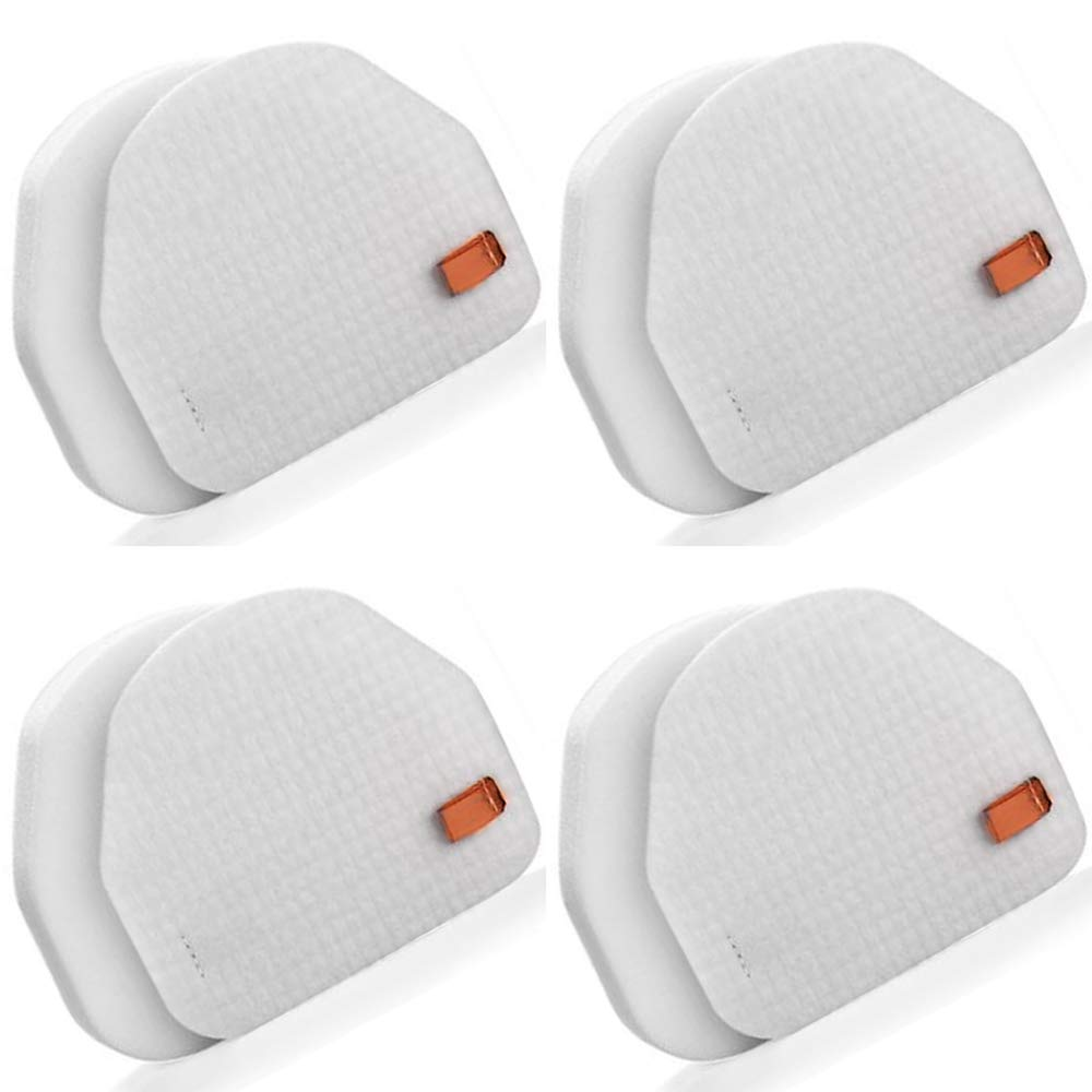 JJSS 4 Pack NV480 & NV450 Foam and Felt Filters Compatible with Shark Professional Upright Models NV450 NV451 NV472 NV481 NV482 NV200 NV201 NV100 NV100 26 UV300, Compare to Part # XFF450