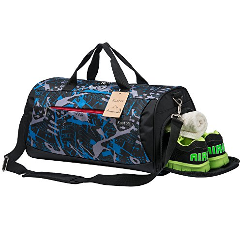 3637c18d775 Kuston Sports Gym Bag with Shoes Compartment Travel Duffel Bag for Men and  Women - Buy Online in UAE.   Sporting Goods Products in the UAE - See  Prices, ...