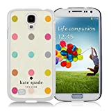 Samsung Galaxy S4 Kate Spade White 015 screen phone case sweet and beautiful design