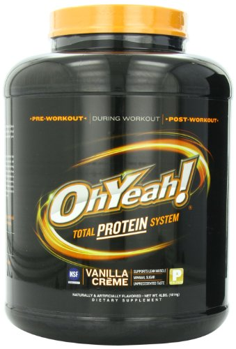 ISS Research OhYeah! Total Protein System, Vanilla Creme, 4 Pound