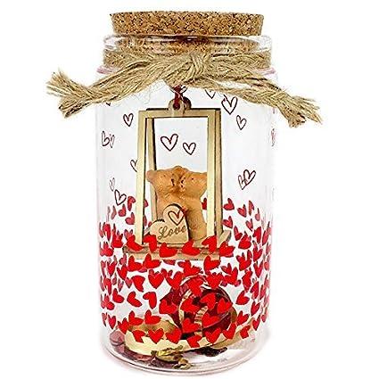 Buy Archies Decorative Bottle With Teddy Bear Valentine Birthday
