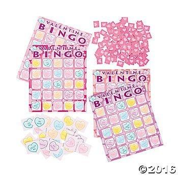 Valentine's Day Bingo Game -