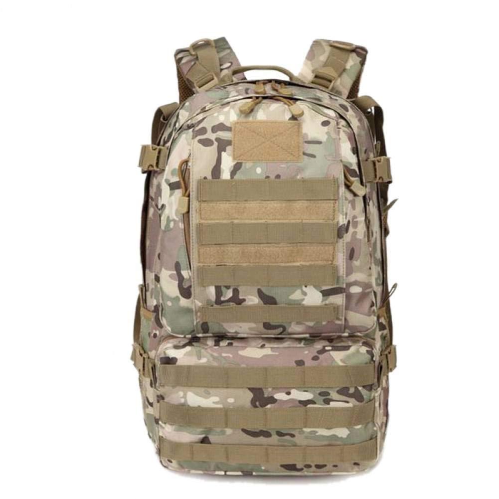 Cp  YDDLIE Oxford Sac à Dos Militaire pour Hommes Assaut Sac à Dos Sac à Dos Souple Daypack Army Sac Voyage Randonnée Camouflage Sport Pack