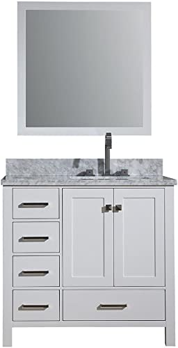 DKB Beckford Series 37″ Inch Bathroom Vanity Set