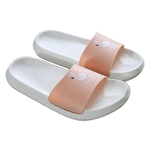 Mujer Zapatillas Jf1ltkc De Sandalias Diapositivas Flamingo Baño Dibujos CthBrsdxQ