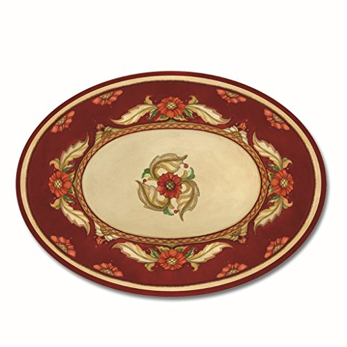 Melamine Dinnerware Plate Serving Trays Antipasto Platter Fruit Cheese 9 inches x 16 inches - Melamine Plate Inch 16 Oval