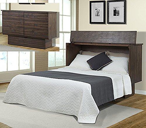 (Arason Creden-ZzZ Flip Top Cabinet Bed | Acacia)