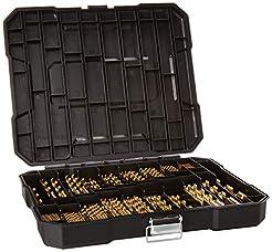 230 Pieces Titanium Drill Bit Set, High ...