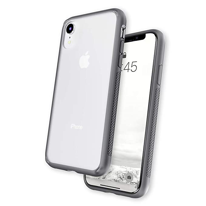 outlet store accc0 0c3a1 Caudabe Synthesis iPhone XR [Slim], [Rugged], [Protective] iPhone XR Case  (Gray)