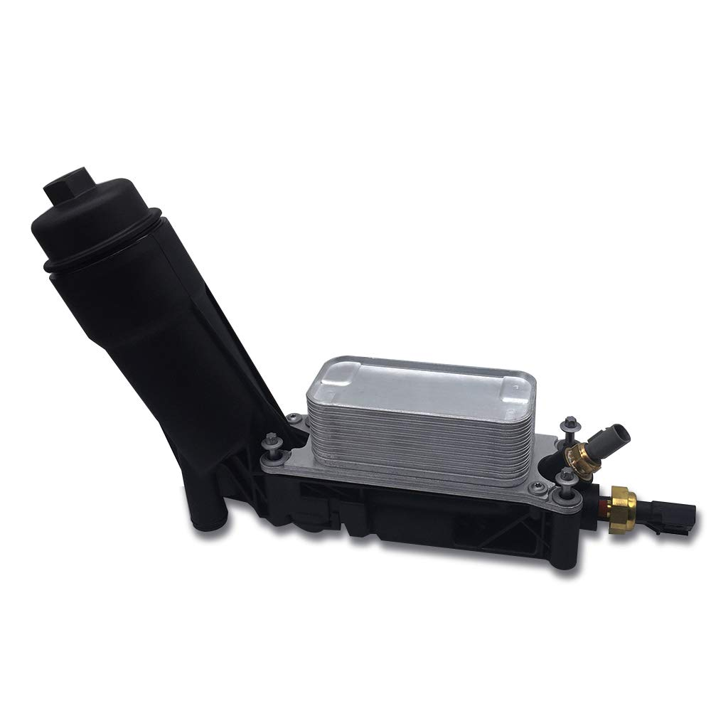 5184294AE Elf Bee Engine Oil Filter Cooler Adapter Housing Assembly 3.6L Engine Replace# 05184294AE 05149062AB
