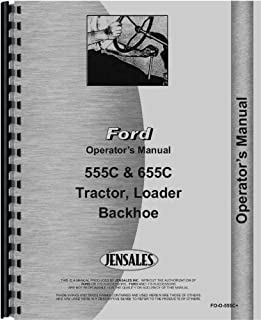 ford 555 tractor loader backhoe parts manual 0739718047129 amazon