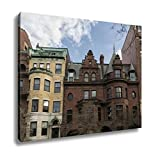 Ashley Canvas, A View Of A Lot Of Windows In Boston, Home Decoration Office, Ready to Hang, 20x25, AG6337582