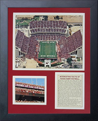 (Legends Never Die Texas A&M University Kyle Field Framed Photo Collage, 11 by 14-Inch)