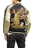 Product review for Satori Script Japanese Souvenir Jacket GSJR-004 Koi Fish Carp Men's Sukajan