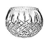 Barski European Hand Cut Crystal Rose Bowl,10''D (10'' D, in the Plaza Collection)