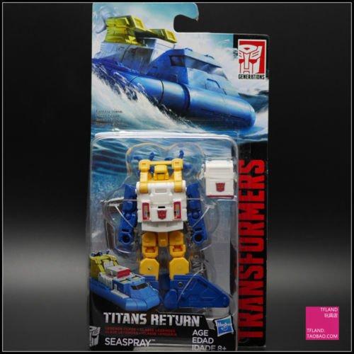 Boxed Hasbro TRANSFORMERS TITANS RETURN Seaspray 2017