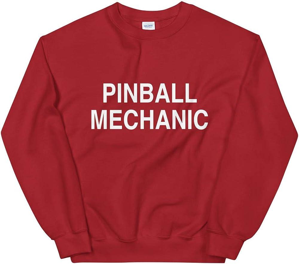 Retro Gamer Gaming Pullover Arcade Pinball Mechanic Sweatshirt Nerd