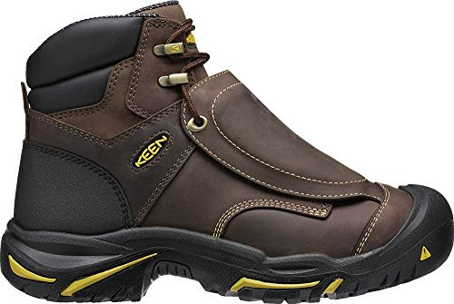 Image of the KEEN Utility Men's MT. Vernon Met Industrial and Construction Shoe, Cascade Brown, 9 D US