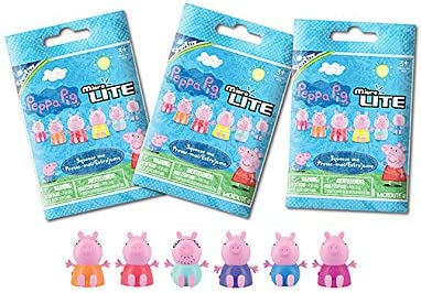 Micro Lites Peppa Pig Mystery Pack of 2 NEW
