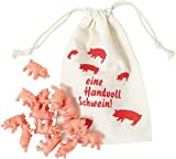 Throw the pigs - Pig dices game in a bag - Roll Your Pigs - Funny, party, family game