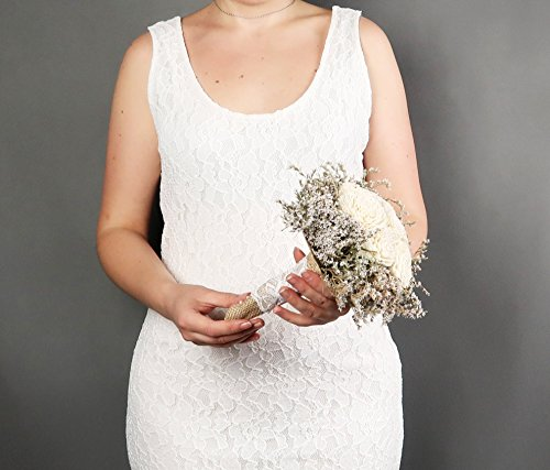 Set-of-5-Small-Rustic-Wedding-Bridesmaids-Bouquets-Made-of-Ivory-Flowers-Dried-Limonium-Burlap-Lace-and-Pearl-Pins